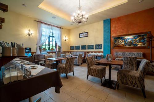 Kavárna a recepce